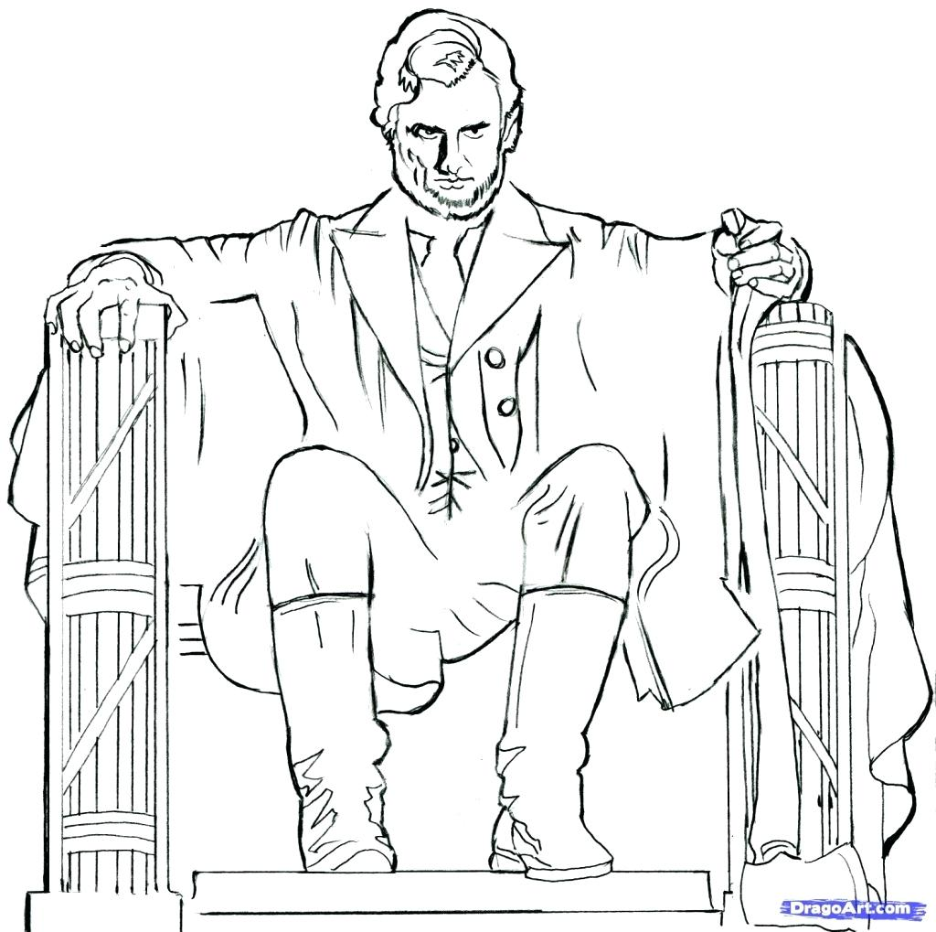Moderno Colorear Abe Lincoln Foto - Dibujos Para Colorear En Línea ...