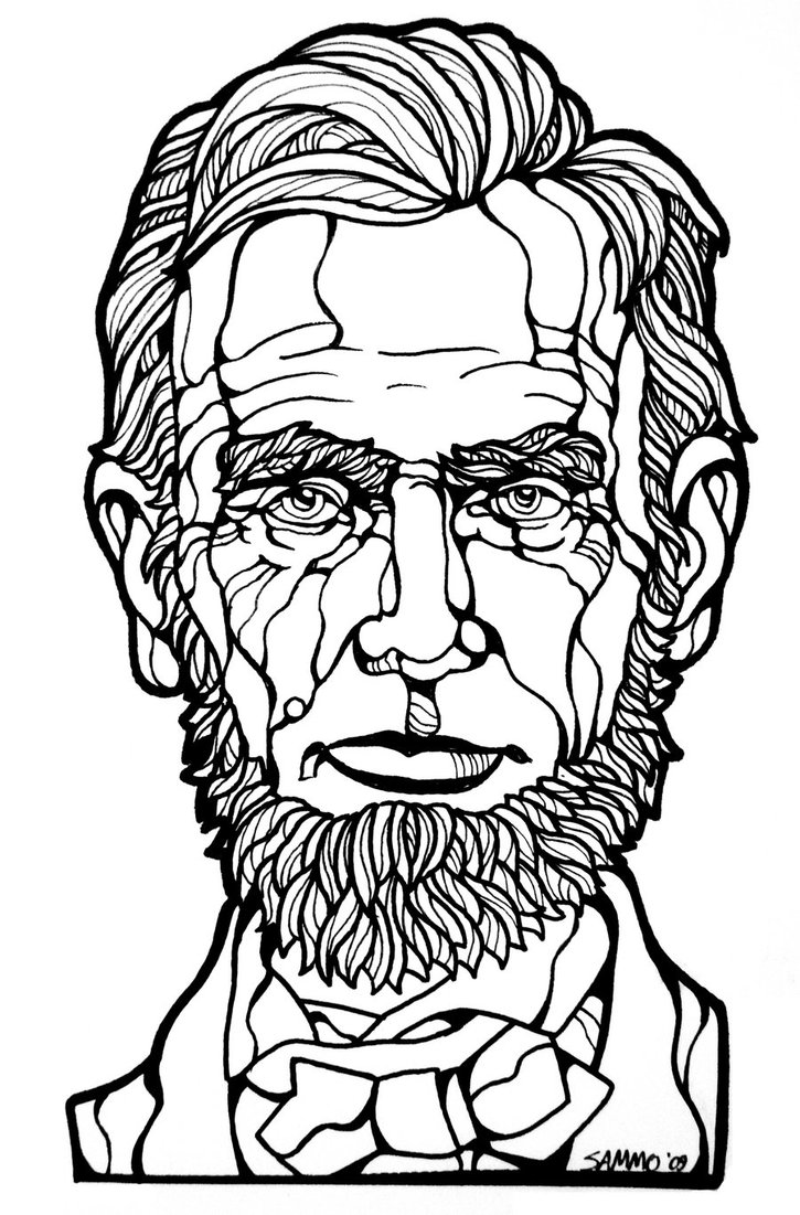 Abraham Lincoln Drawing at GetDrawings.com   Free for personal use ...