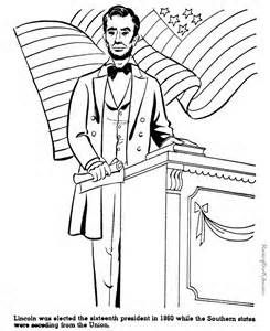 Abraham Lincoln With Hat Drawing
