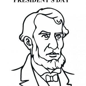 300x300 Abraham Lincoln Coloring Pages For Kindergarten Best Of Lincoln
