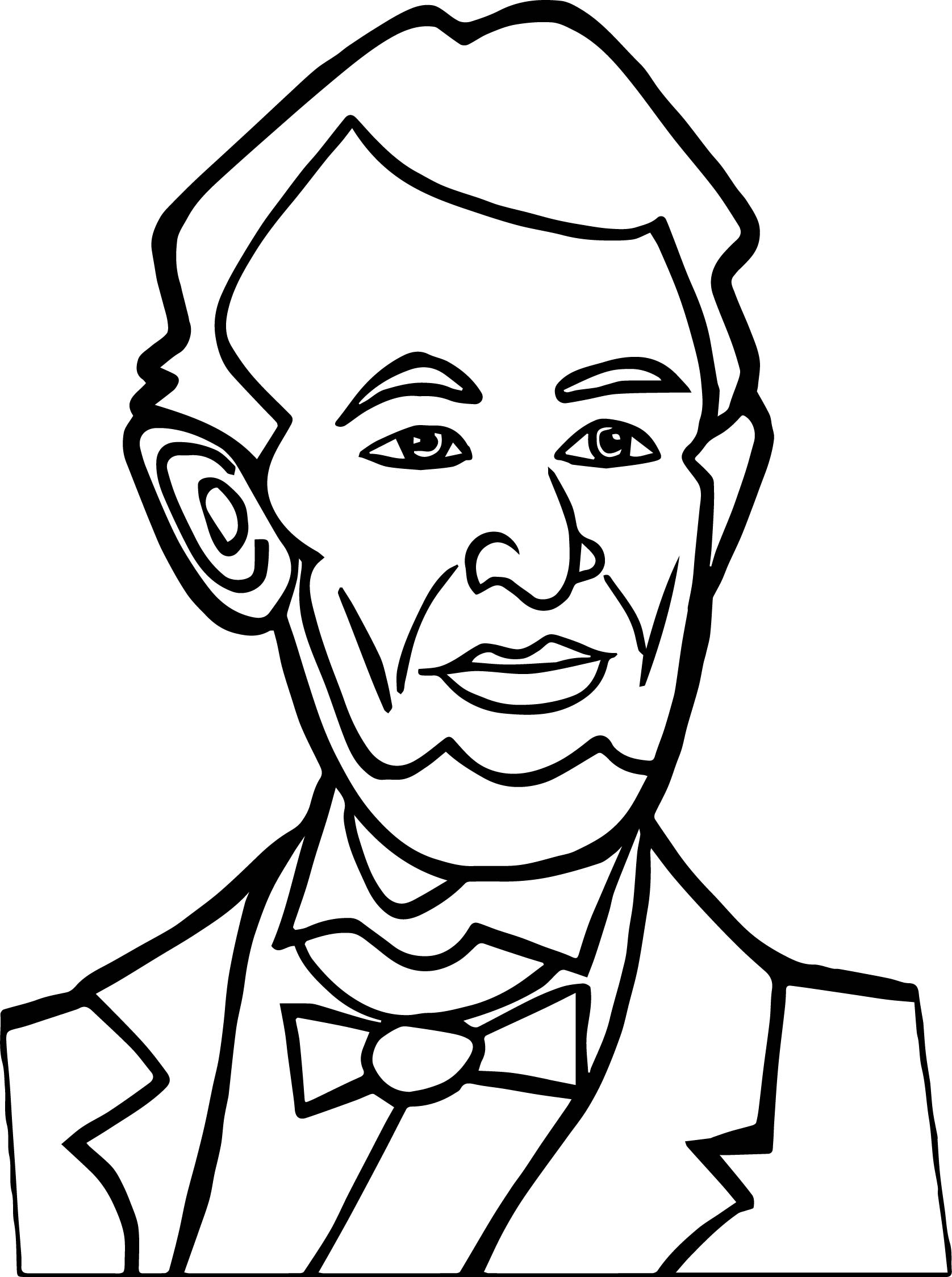 1676x2247 Abraham Lincoln President Good Coloring Page Wecoloringpage