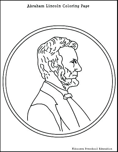 386x500 Excellent Abraham Lincoln Coloring Pages Online Page Free