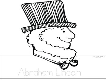 Abraham Lincoln With Hat Drawing At Getdrawings Com Free For
