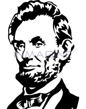 300x380 President Lincoln Clip Art