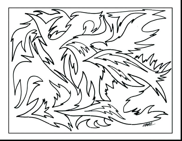618x478 Pop Art Coloring Pages Pop Art Coloring Pages Surprising Abstract