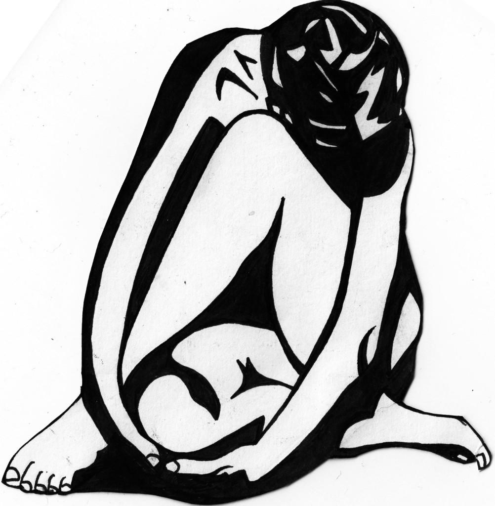 1002x1024 Woman Abstract Art Matilda Noise Organ Art Press