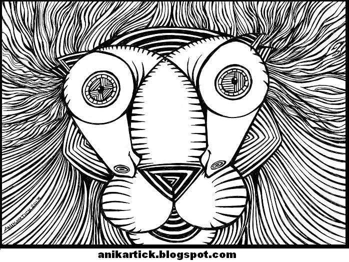 698x524 Abstract Art