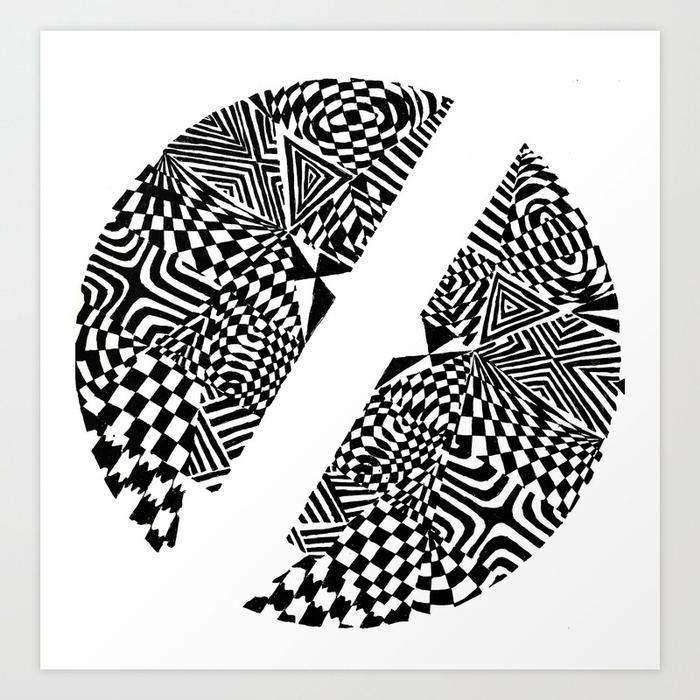 Abstract Black And White Drawing At Getdrawings Com Free