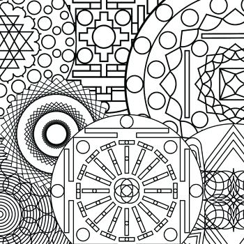 350x350 Coloring Pages Abstract Designs Free Coloring Pages For Adults