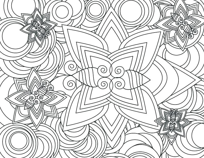 792x612 Coloring Pages Designs Draw Background Complex Coloring Page