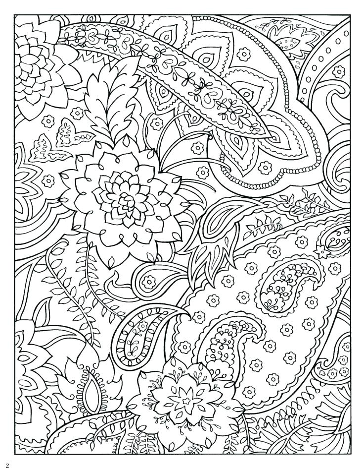 736x952 Coloring Pages With Designs Geometric Coloring Pages Have Kids