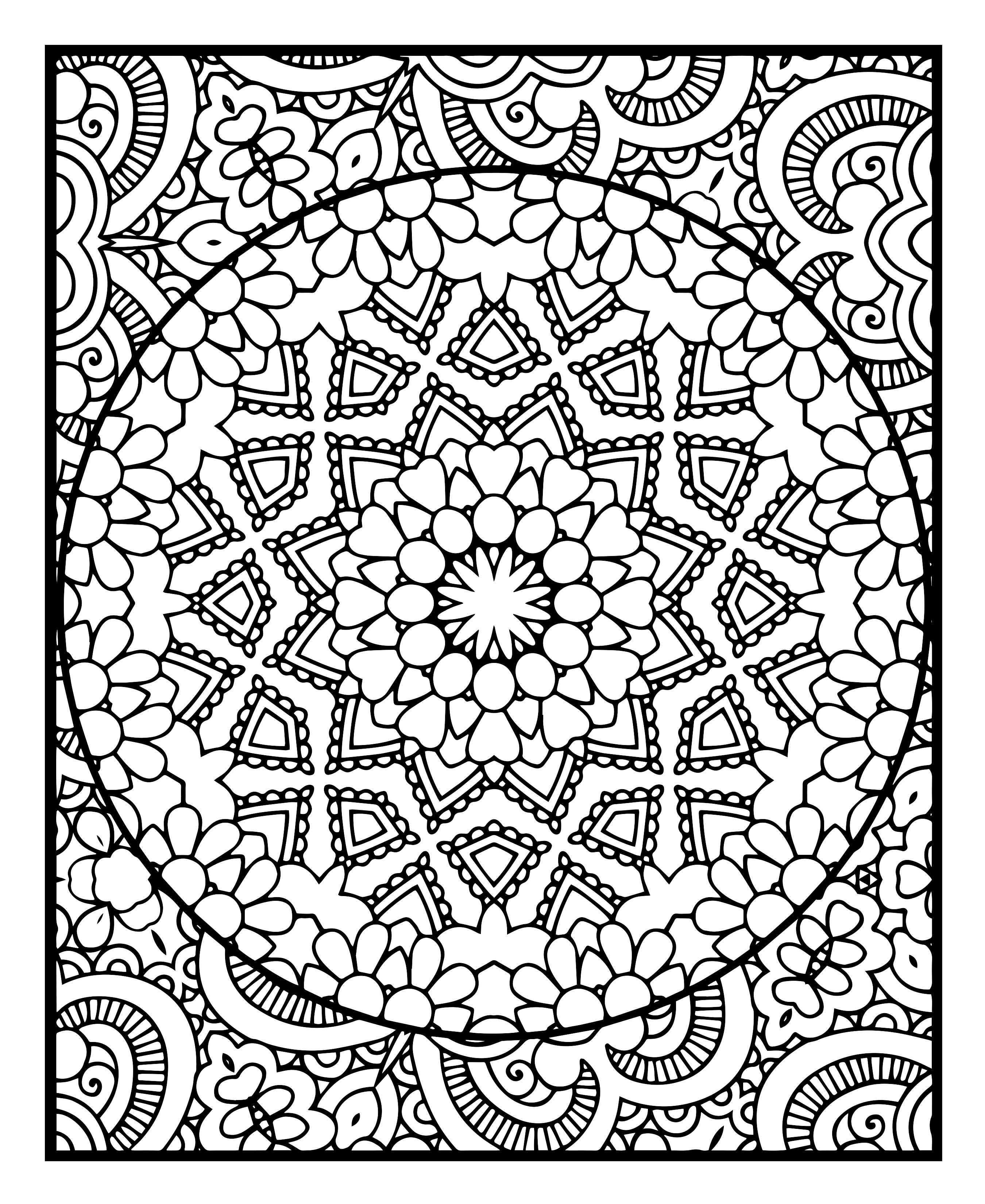 2700x3300 Coloring2relax Awesome Abstract Designs Printable