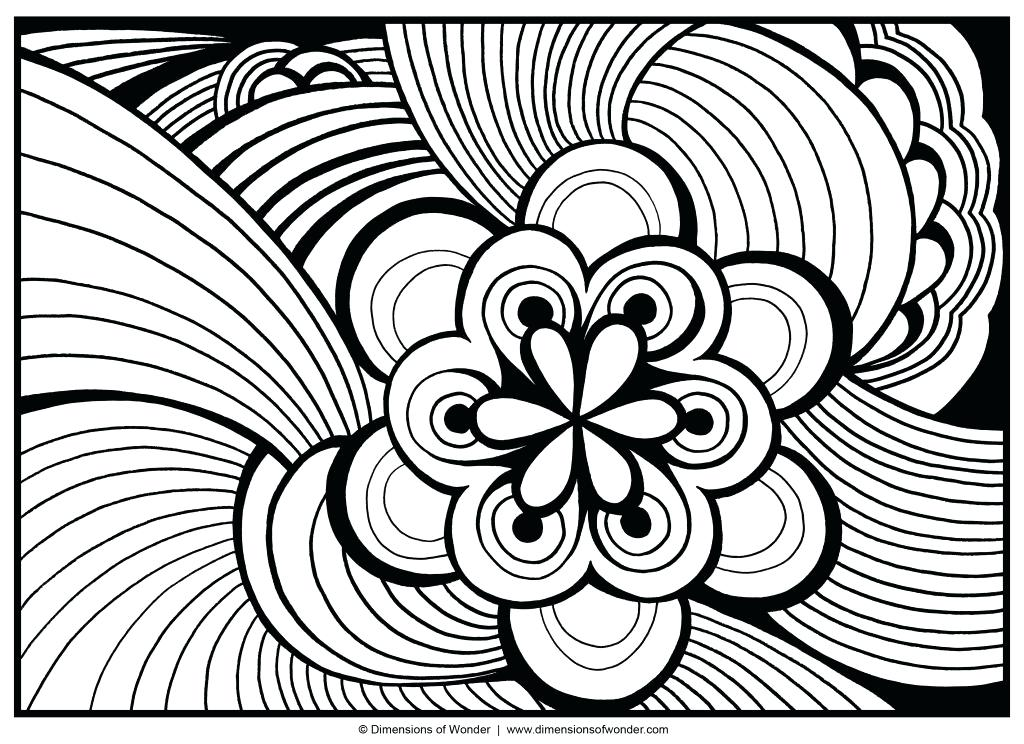 1024x744 Cool Printable Coloring Pages For Adults Modest Cool Coloring