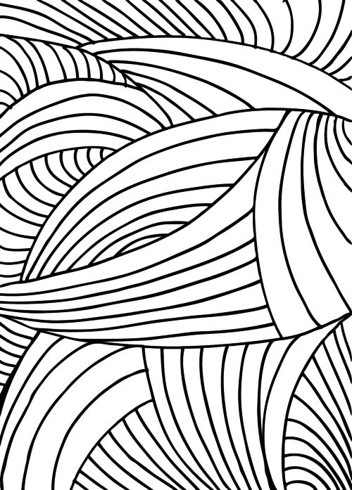 500x697 25 Best Abstract Coloring Pages Images On Abstract Art