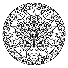 230x230 Abstract Coloring Pages