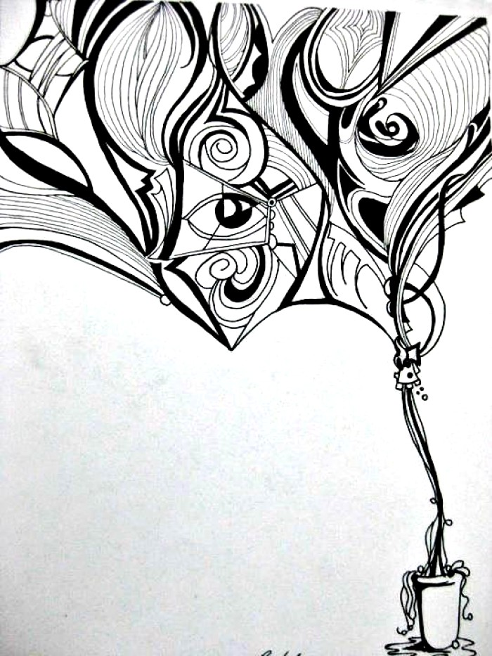 700x933 abstract drawing ideas