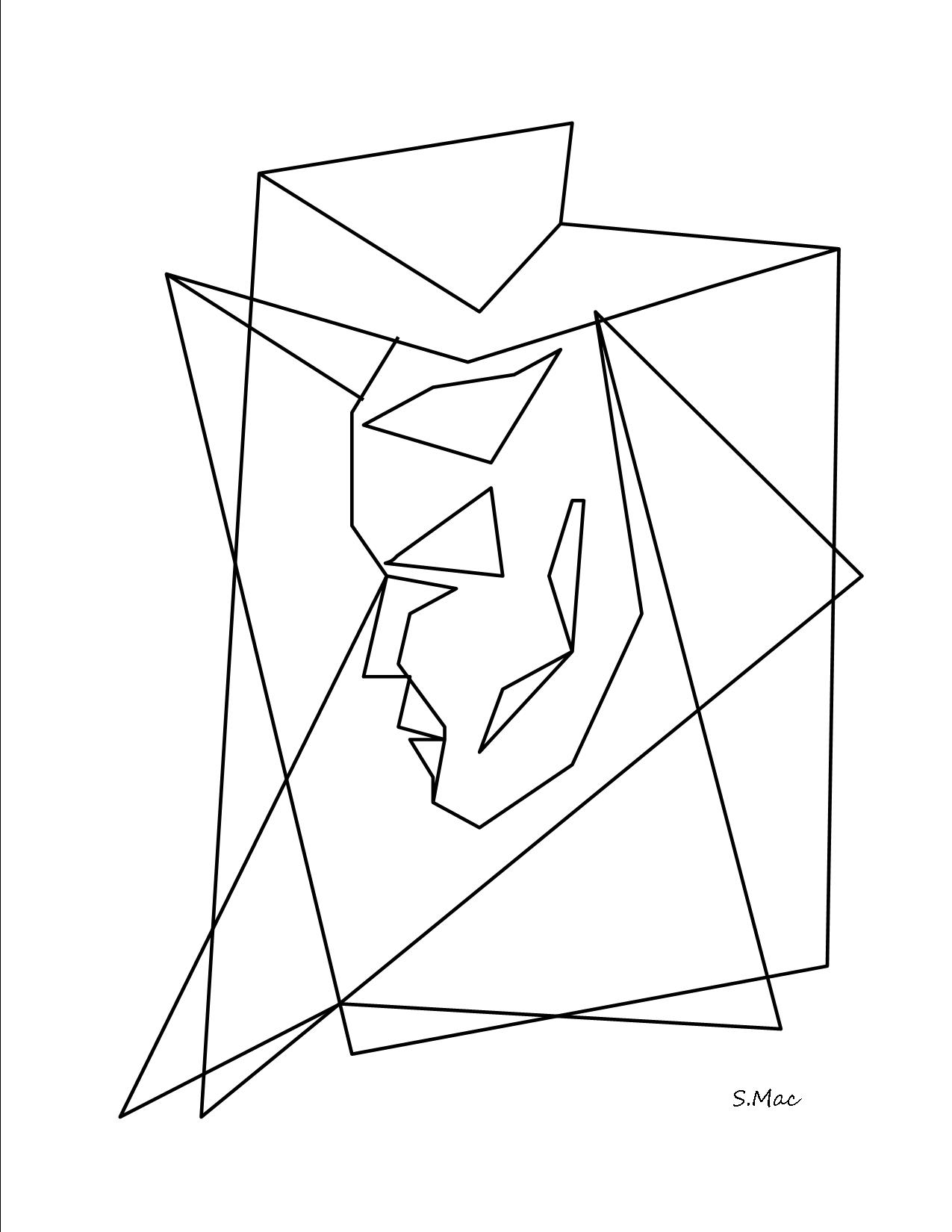 1275x1650 Abstract Coloring Pages S.mac's Place To Be