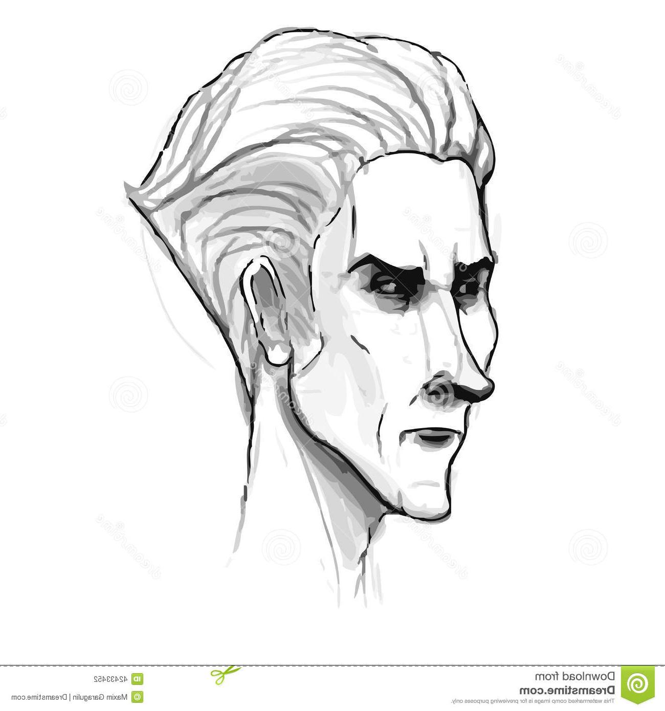 1300x1390 Abstract Men Face Pencil Sketch 10 Incredible Pencil Hyperrealist
