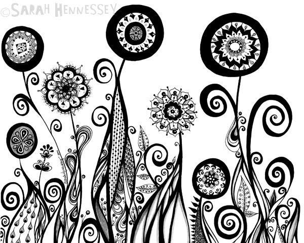 600x479 37 Best Abstract Flower Images On Abstract Flowers