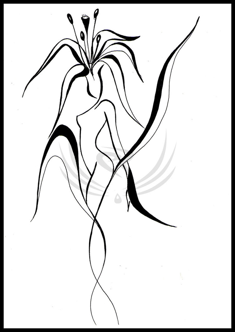 752x1063 Abstract, Women As Flowers By Elro66