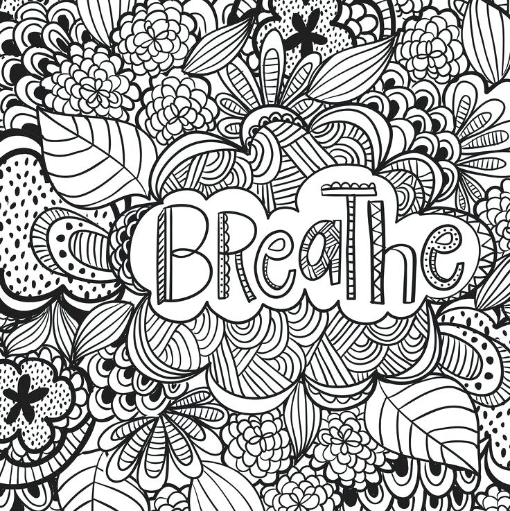 736x737 Coloring Pages For Adults Abstract