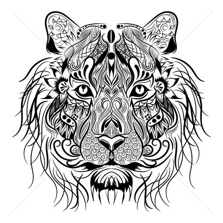 450x450 Free Abstract Lion Head Stock Vectors Stockunlimited
