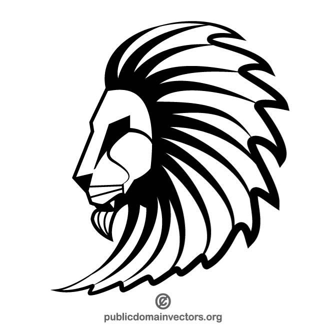 660x660 Free Lion Head Drawing Eps Vectors 752 Downloads Found