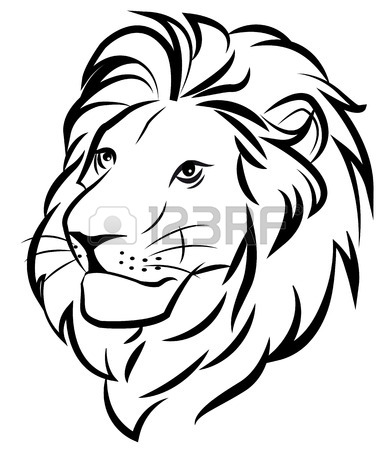 391x450 Lion Drawing Stock Photos. Royalty Free Business Images