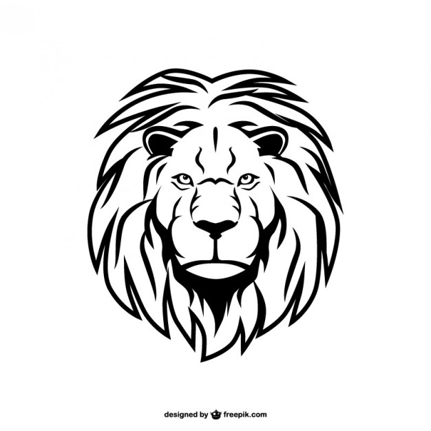 626x626 Lion Heart Icon Vector Free Download