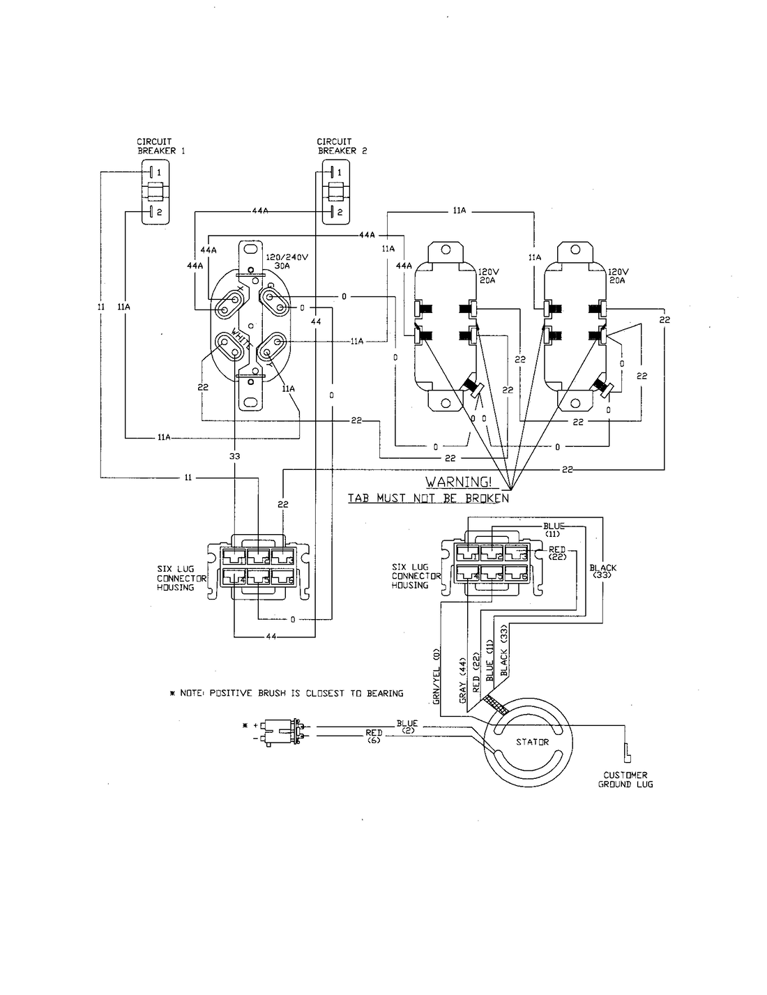 Ac Drawing At Free For Personal Use Of Power Wiring 1100x1427 Generator Diagram Components