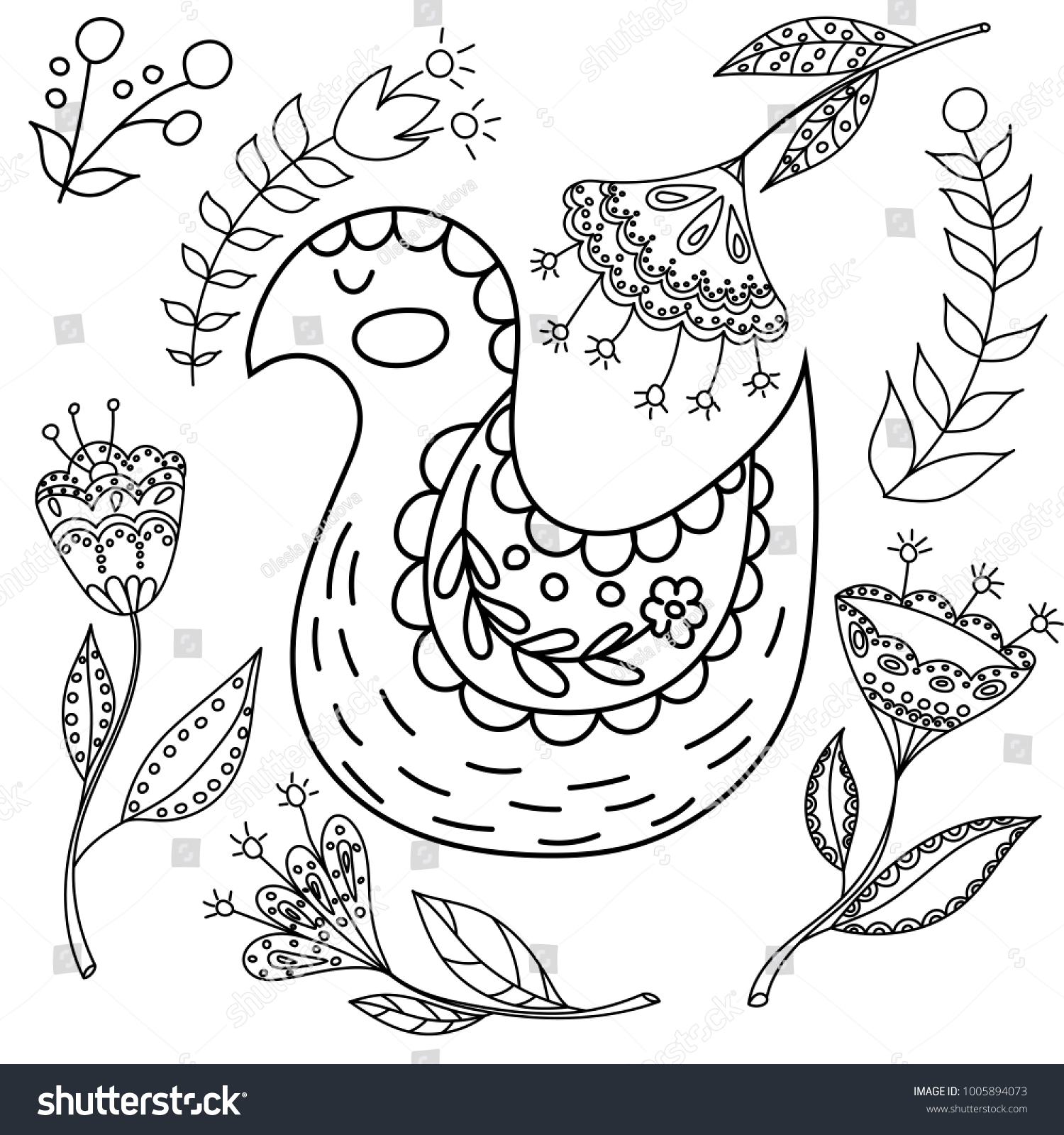 1500x1600 Coloring Excelent Scandinavian Folk Art Coloring Book Photo