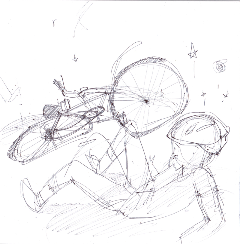 800x812 Bike Accident Stasia's Studio