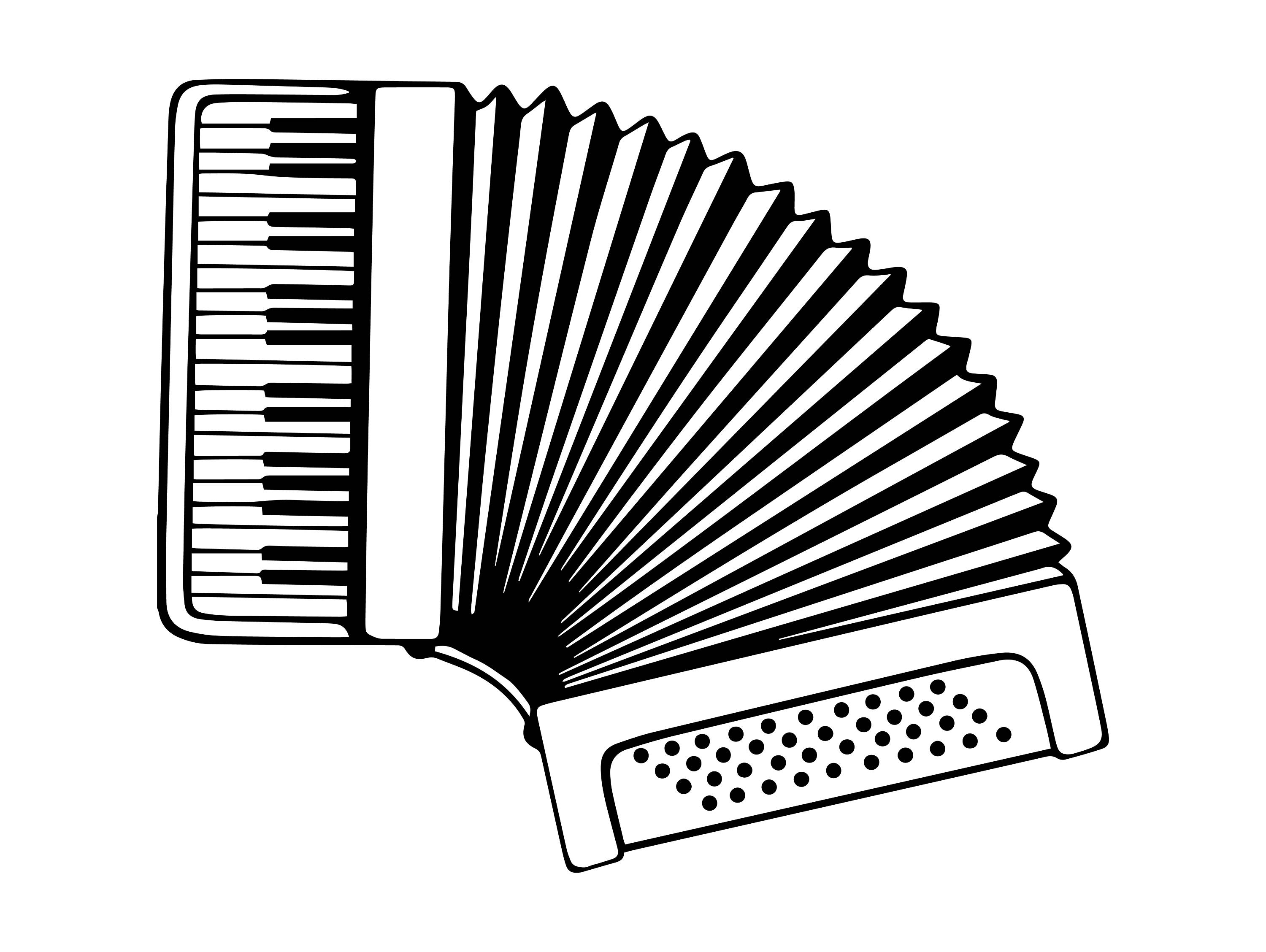Accordion Drawing at GetDrawings com | Free for personal use