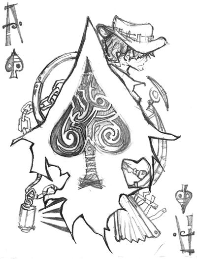 400x525 The Ace Of Spades By Jojostory