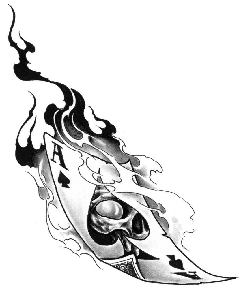 835x1023 Ace Of Spades Drawing Ace Of Spades Graphics And Comments