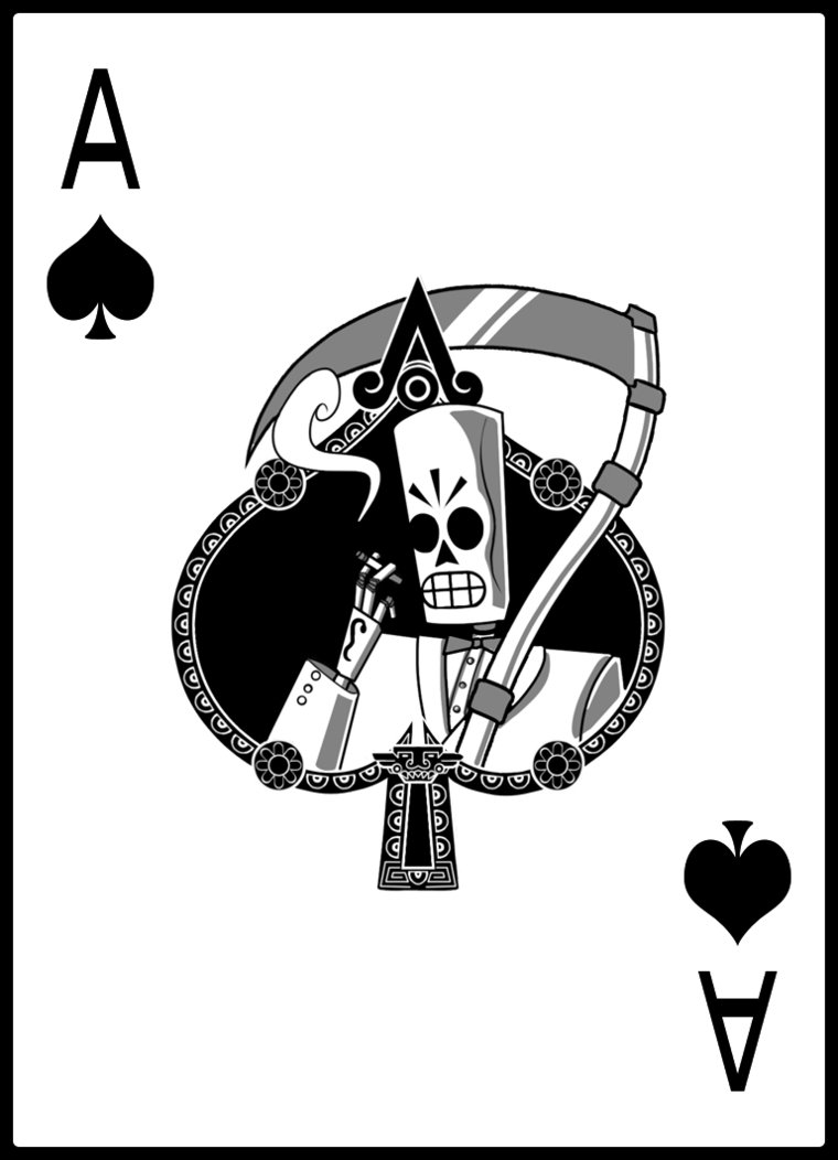 760x1052 Ace Of Spades By Mariogrant