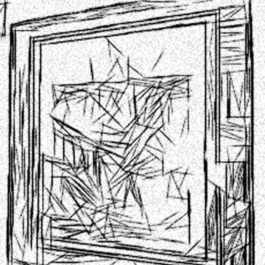 900x900 Etch A Sketch On Acid Frame Drawing By Jonathan Harnisch