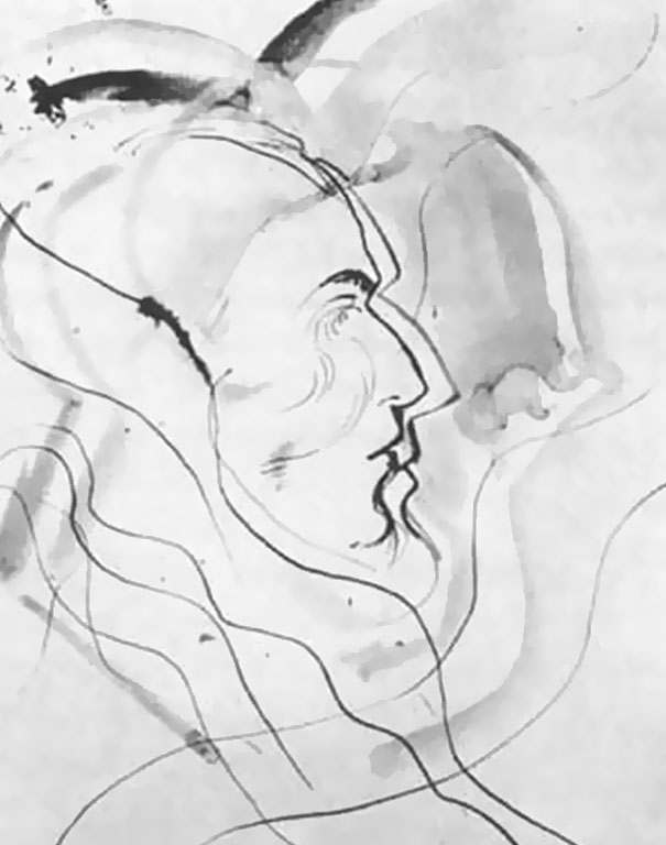 605x768 In 1950s Experiment Artist Used Lsd And Drew The Same Portrait