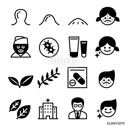 500x500 Acne Icons Stock Image And Royalty Free Vector Files On Fotolia