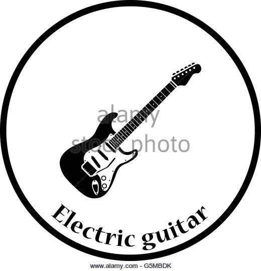 520x540 Acoustic Guitar Thin Line Icon Stock Photos Amp Acoustic Guitar Thin