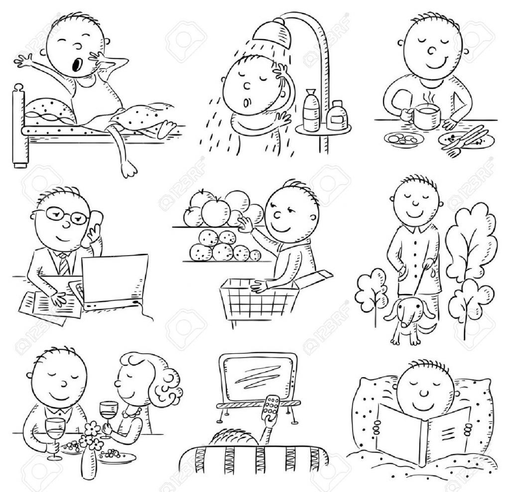1024x989 Cartoon Drawing Activities Cartoon Drawing Activities