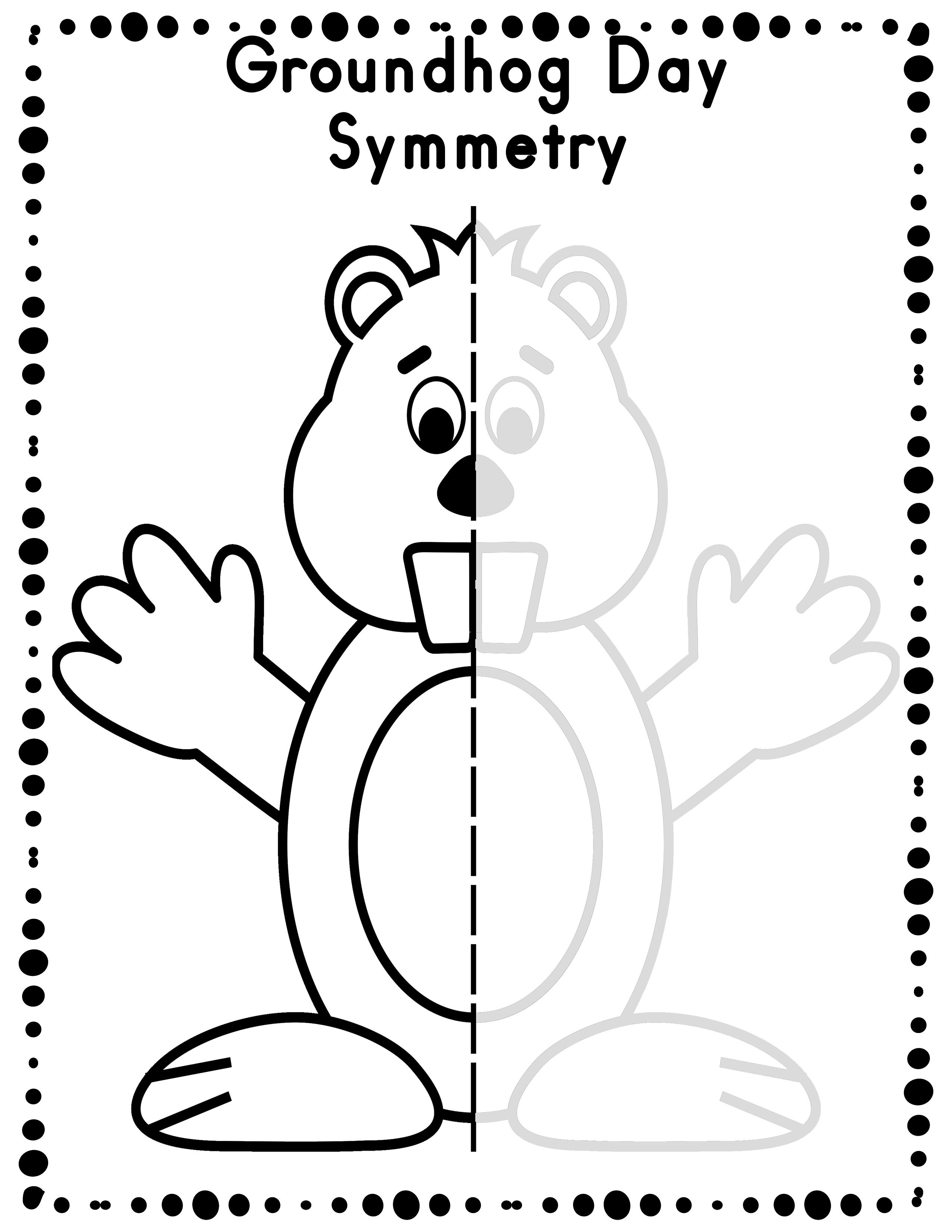 2550x3300 Groundhog Day Mathorksheets Directed Drawing Activity