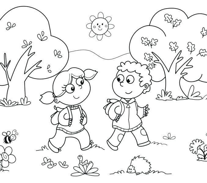 678x600 Coloring Activities For Kindergarten Printable Kindergarten