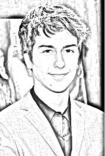 214x317 Nat Wolff Drawing. Get Yours Free!