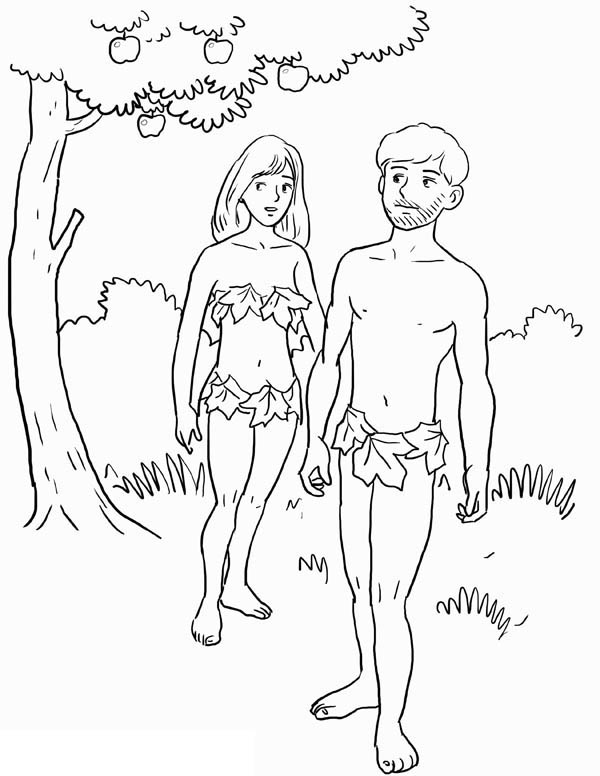 600x776 Adam And Eve Was Forbid To Eat Fruit From Tree Of Knowledge In