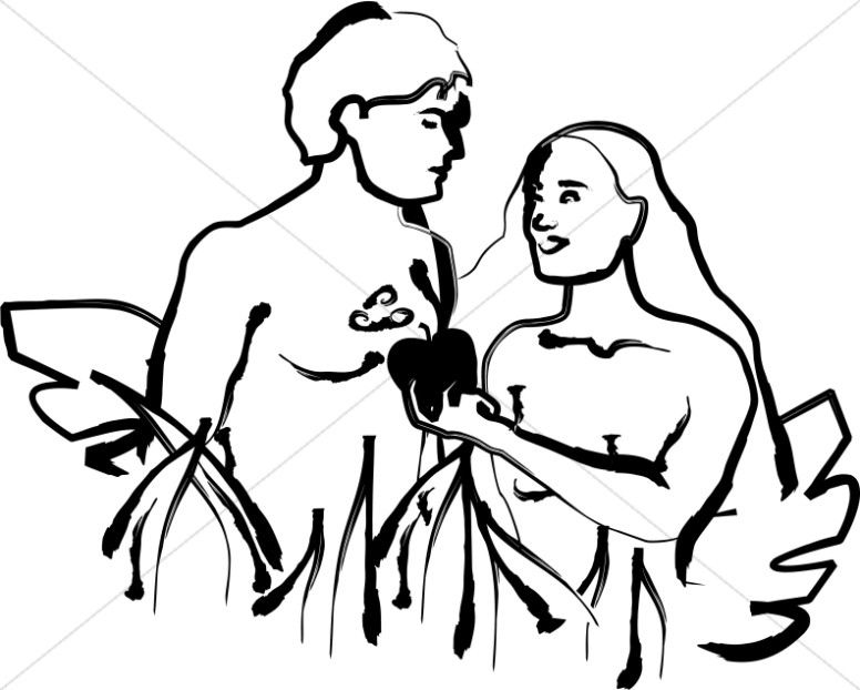 776x622 Christian Clipart Of Adam And Eve Adam And Eve Clipart