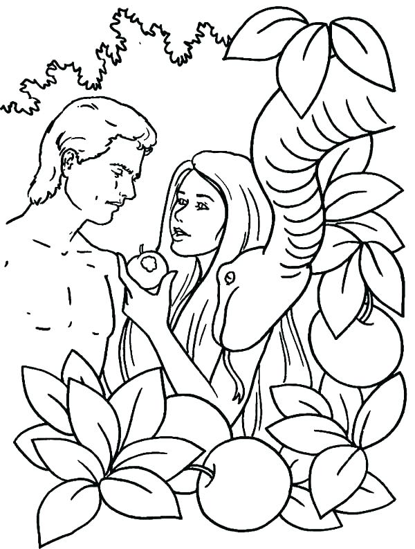 Adam And Eve Drawing At Getdrawings Com Free For Personal Use Adam