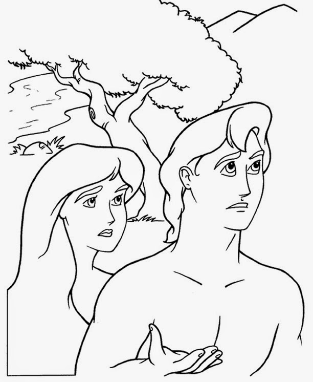 612x746 Story Of Adam And Eve