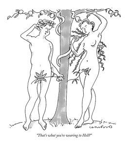 263x300 Adam And Eve Drawings Fine Art America