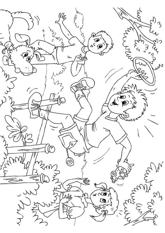 531x750 Coloring Page Hyperactive